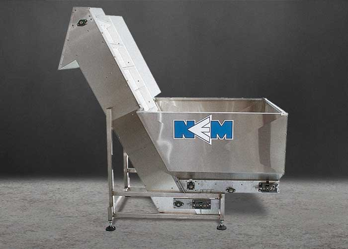 plastic bottle feeder, hopper/elevator